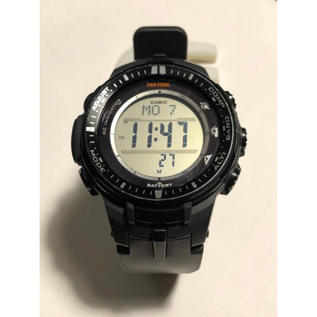 CASIO(カシオ)のCASIO カシオ プロトレック PRW-3000 メンズの時計(腕時計(デジタル))の商品写真
