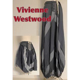 ヴィヴィアンウエストウッド(Vivienne Westwood)の★ヴィヴィアンウエストウッド ANGLOMANIA ロング スカート  2way(ロングスカート)