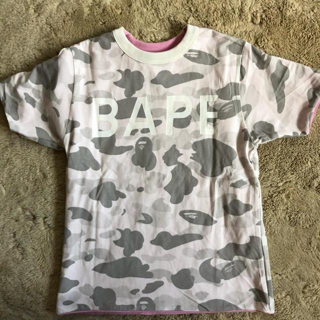 A BATHING APE(アベイシングエイプ)のA BATHIMG APE リバーシブル 半袖Tシャツ 150cm キッズ/ベビー/マタニティのキッズ服男の子用(90cm~)(Tシャツ/カットソー)の商品写真