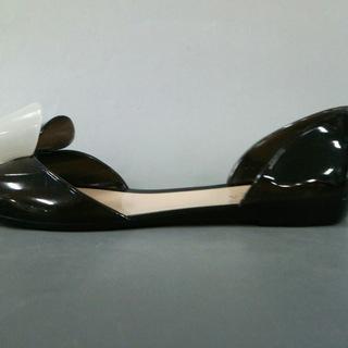 フルラ(Furla)のフルラ サンダル 39 レディース - 黒×白(サンダル)