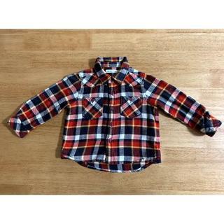 ビームス(BEAMS)のBEAMS mini シャツ90cm(Tシャツ/カットソー)