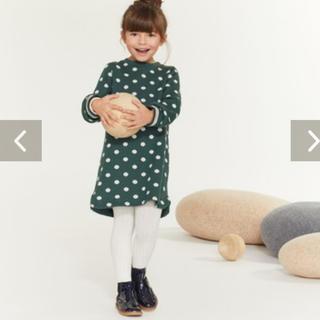 プチバトー(PETIT BATEAU)の☆プチバトー☆ ドットワンピース 10歳サイズ 新品タグ付き(ワンピース)