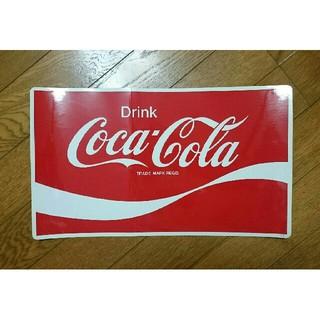コカ・コーラ - ★当時品★希少!鬼レア!★コカ*コーラ★(大)★ステッカー★非売品★未使用★昭和