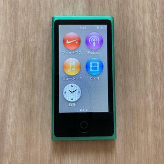 アップル(Apple)のipod 第7世代  16GB(ポータブルプレーヤー)