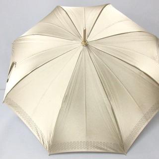 セリーヌ(celine)のCELINE(セリーヌ) 傘 - ベージュ×ブラウン(傘)