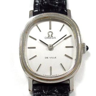 オメガ(OMEGA)のオメガ 腕時計 デビル レディース シルバー(腕時計)