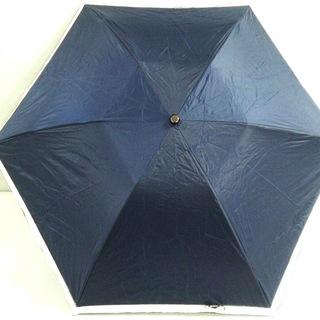 アンテプリマ(ANTEPRIMA)のアンテプリマ 折りたたみ傘 - ネイビー×白(傘)