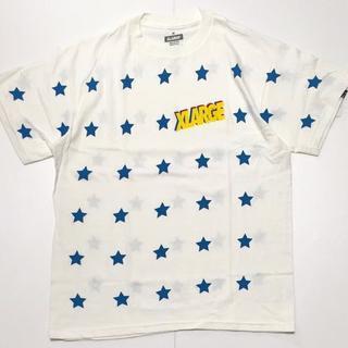 エクストララージ(XLARGE)のXLARGE エクストララージ 星総柄 Tシャツ M 新品 (Tシャツ/カットソー(半袖/袖なし))