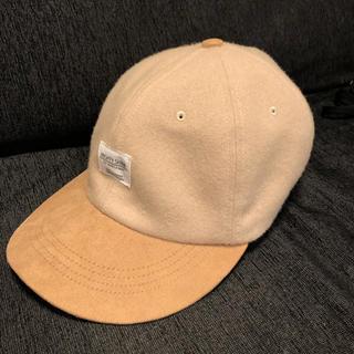 ビームス(BEAMS)のキャップ 帽子 beamsビームス ベージュ日本製良質(キャップ)