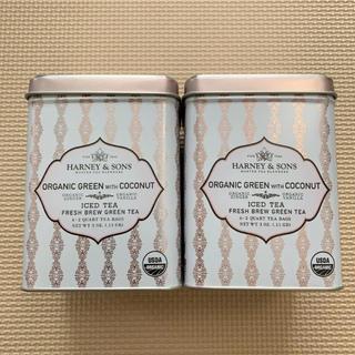 ルピシア(LUPICIA)のHarney and Sons オーガニックアイスティー 2缶(茶)
