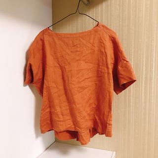 ムジルシリョウヒン(MUJI (無印良品))の無印良品 リネンブラウス(シャツ/ブラウス(半袖/袖なし))