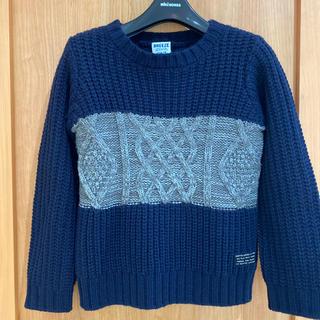 ブリーズ(BREEZE)の一回着用 BREEZE 長袖 セーター 110 ニット ブリーズ 100 ロンT(ニット)