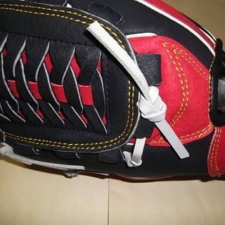 アディダス(adidas)の新品 adidas 左投げ 少年軟式野球グローブ 幼児~小学生低学年向き 黒(グローブ)