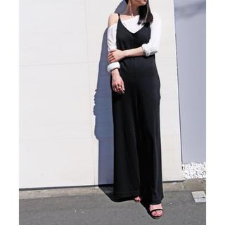 TODAYFUL - AKTE キャミソールジャンプスーツ サロペット ワンピース 美品 ブラック