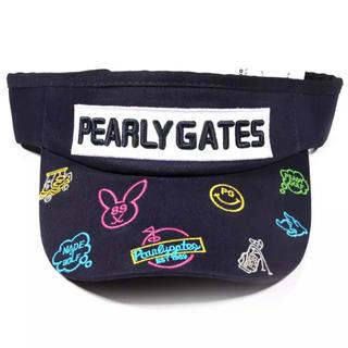 パーリーゲイツ(PEARLY GATES)のパーリーゲイツ サンバイザー(サンバイザー)