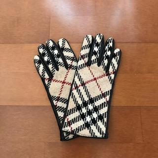 バーバリー(BURBERRY)のバーバリー 革手袋(手袋)