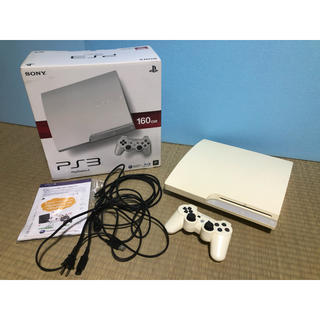 PlayStation3 - SONY PlayStation3 本体 CECH-3000A LW