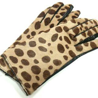 フォクシー(FOXEY)のFOXEY(フォクシー) 手袋 レディース美品  -(手袋)