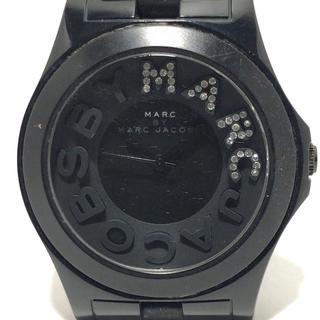 マークバイマークジェイコブス(MARC BY MARC JACOBS)のマークジェイコブス 腕時計 MBM4527 黒(腕時計)