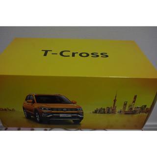 フォルクスワーゲン(Volkswagen)のT-cross 1/18ミニカー 海外仕様サンルーフ付 vw(ノベルティグッズ)