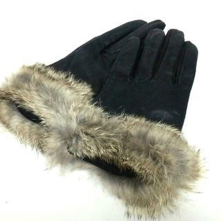 アンタイトル(UNTITLED)のアンタイトル 手袋 レディース新品同様  黒(手袋)