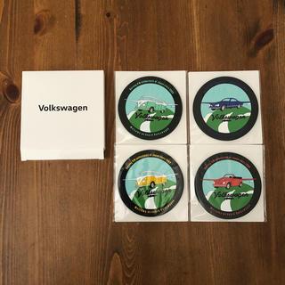 フォルクスワーゲン(Volkswagen)のフォルクスワーゲン ラバーコースター(ノベルティグッズ)
