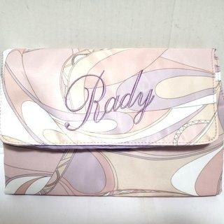 Rady(レディ) バッグ ピンク×白×マルチ