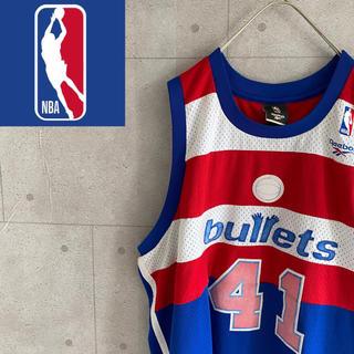 リーボック(Reebok)のReebok NBA ワシントンウィザーズ バスケットシャツ(バスケットボール)