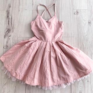 PAMEO POSE - お値下げ PAMEO POSE ピンク ワンピ  フリル ドレス ハロウィーン