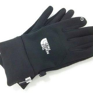 ザノースフェイス(THE NORTH FACE)のノースフェイス 手袋 M レディース美品  黒(手袋)