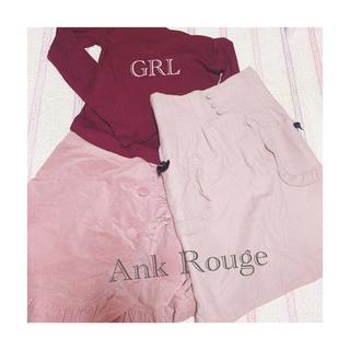 アンクルージュ(Ank Rouge)の量産型 秋冬服セット୨୧⑅*.Ank Rouge、allamanda(セット/コーデ)