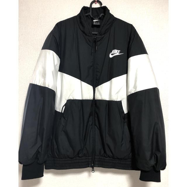 NIKE(ナイキ)のナイキ XXL 中綿ジャンパー アウター 防寒着 冬物 メンズ 厚手 作業着 メンズのジャケット/アウター(ナイロンジャケット)の商品写真