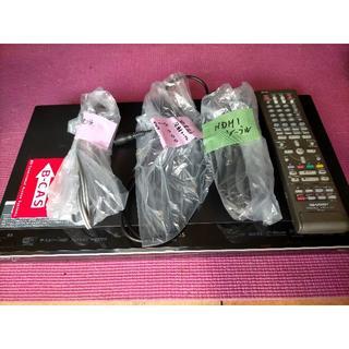 シャープ(SHARP)のシャープブルーレイレコーダー【BD-W1100】W録画 HDD大容量1TB(ブルーレイレコーダー)