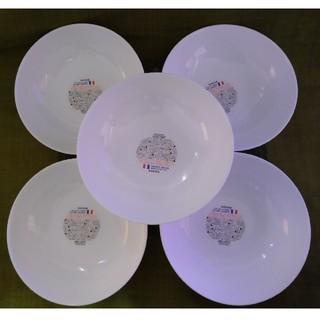 山崎製パン - ヤマザキ 春のパン祭り 白いお皿 計5枚18cm×18cm×4.8cm