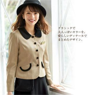 Joie (ファッション) - 秋冬★ アンジョア 9号 ジャケット 事務服 会社 OL