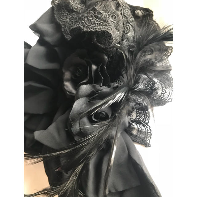 ALICE and the PIRATES(アリスアンドザパイレーツ)のアリス&パイレーツ ヘッドドレスカチューシャ  黒 レディースのヘアアクセサリー(カチューシャ)の商品写真