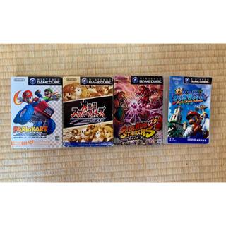 ニンテンドーゲームキューブ(ニンテンドーゲームキューブ)のゲームボーイキューブソフト4本(家庭用ゲームソフト)