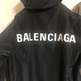 バレンシアガ(Balenciaga)のBalenciaga ロゴレインコート(ナイロンジャケット)