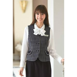 Joie (ファッション) - 秋冬★ アンジョア 11号 ベスト 事務服 会社 OL joie