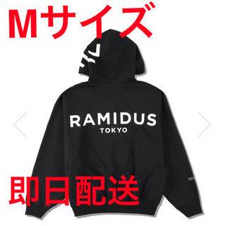 WDS × RAMIDUS BIG LOGO HOODIE / BLACK(パーカー)