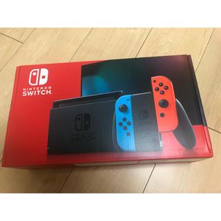ニンテンドースイッチ(Nintendo Switch)の新品未使用 switch スウィッチ 本体 付属品完備(家庭用ゲーム機本体)