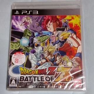 PlayStation3 - [新品•未開封]   ドラゴンボールZ BATTLE OF Z