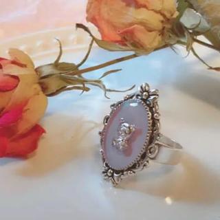 くすみパープルくまちゃんリング♡フリーサイズ 地雷 量産型ジャニオタロリメンヘラ(リング(指輪))