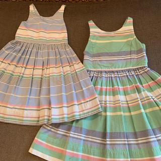 ラルフローレン ワンピース ドレス 4歳 7歳 2点セット