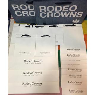 ロデオクラウンズワイドボウル(RODEO CROWNS WIDE BOWL)のロデオクラウンズ ロデオクラウンズワイドボウル 旧ショッパー ショップ袋(ショップ袋)