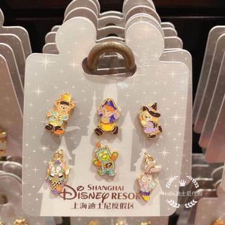 上海ディズニー限定ハロウィンバッジ(キャラクターグッズ)