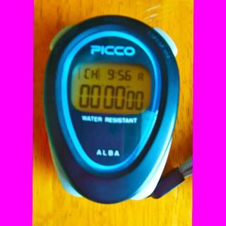 セイコー(SEIKO)のセイコー ストップウォッチ SEIKO ALBA PICCO W071-4000(その他)