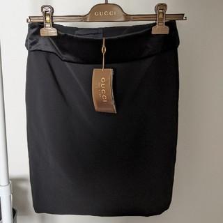 グッチ(Gucci)の新品タグ付き GUCCI スカート イタリア製 グッチ 確実正規 未使用(ミニスカート)