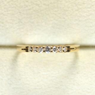 K18 ダイヤ 指輪(リング(指輪))