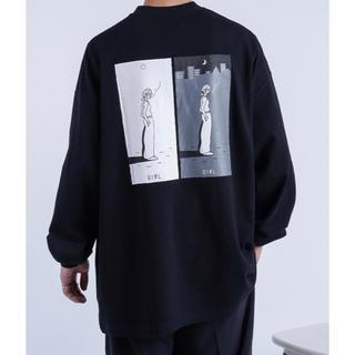 HARE - kutir サトウリョウタロウ コラボロングTシャツ